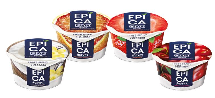 Йогурт EPICA с повышенным содержанием белка