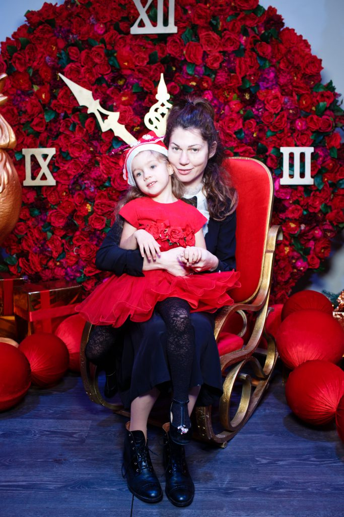 Евгения Линович с дочерью