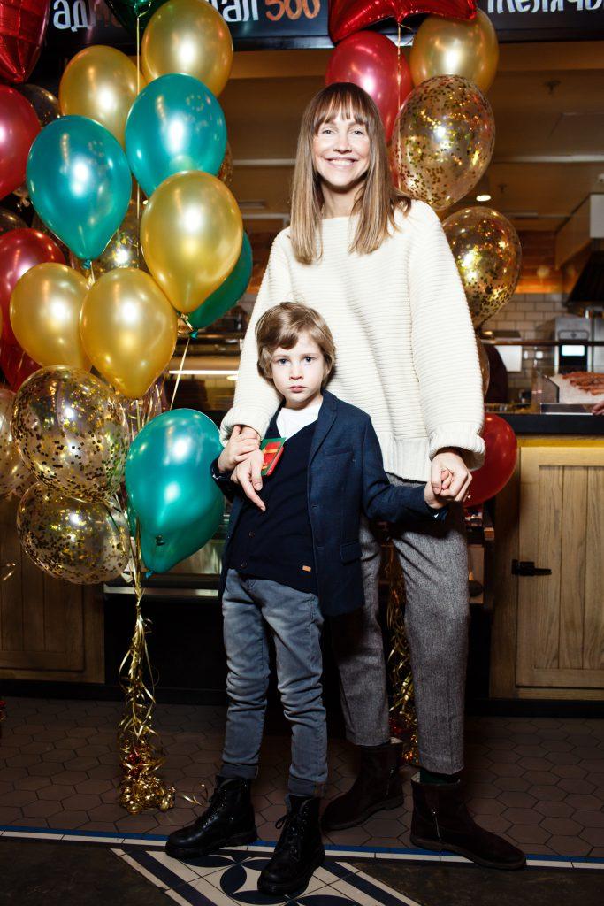 Светлана Родина с сыном