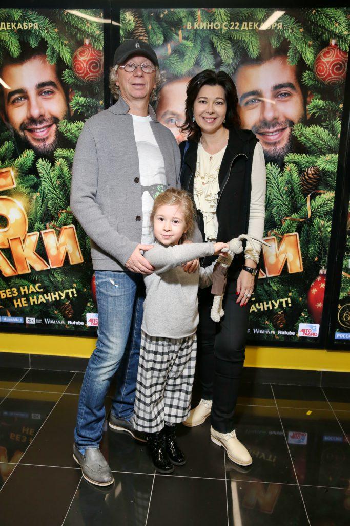Аркадий и Наталья Укупник с дочерью