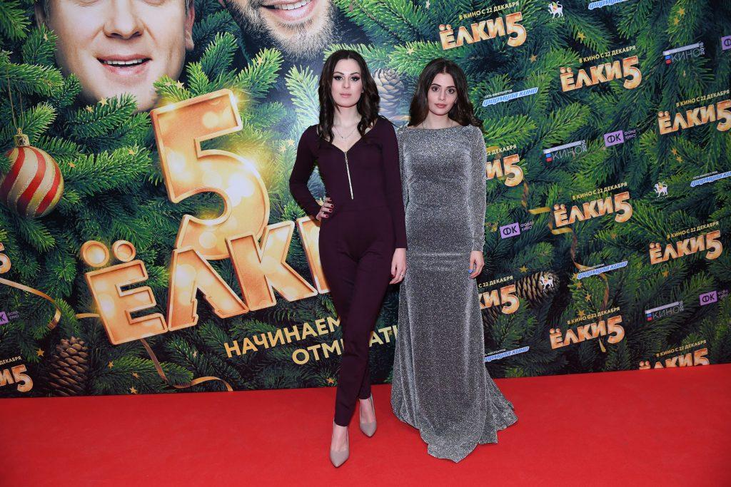 Юлия Пушман и Карина Каспарянц