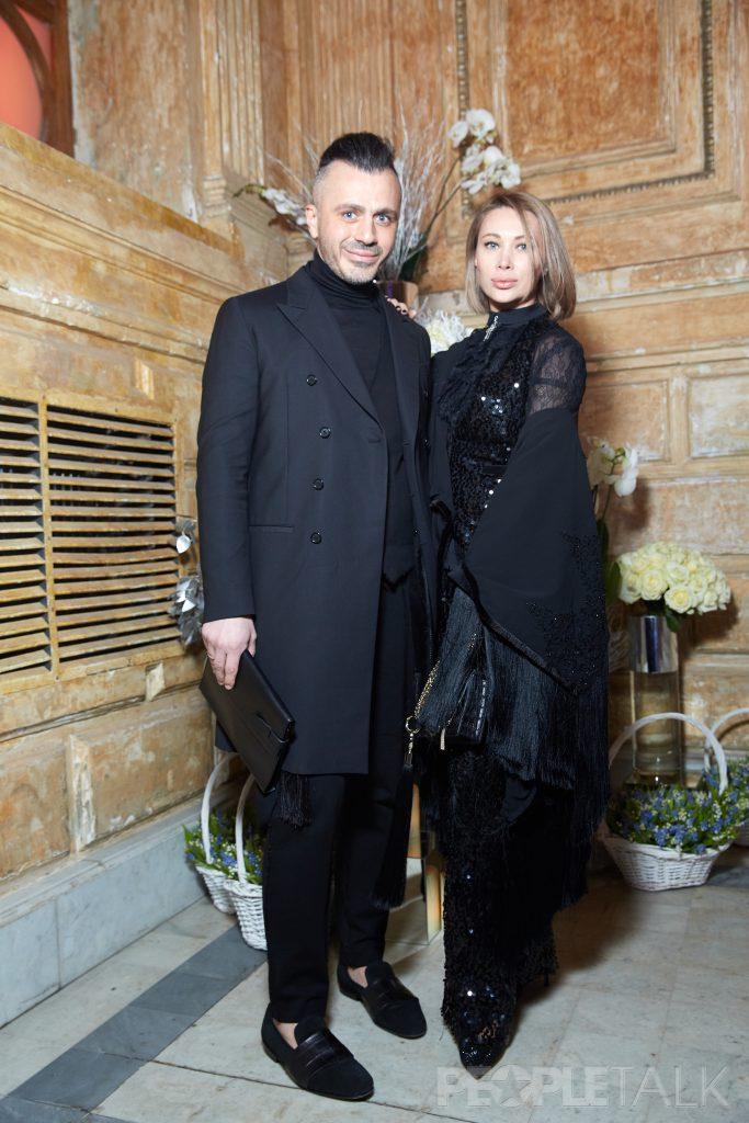 Александр Сирадекиан и Лиза Шарикова