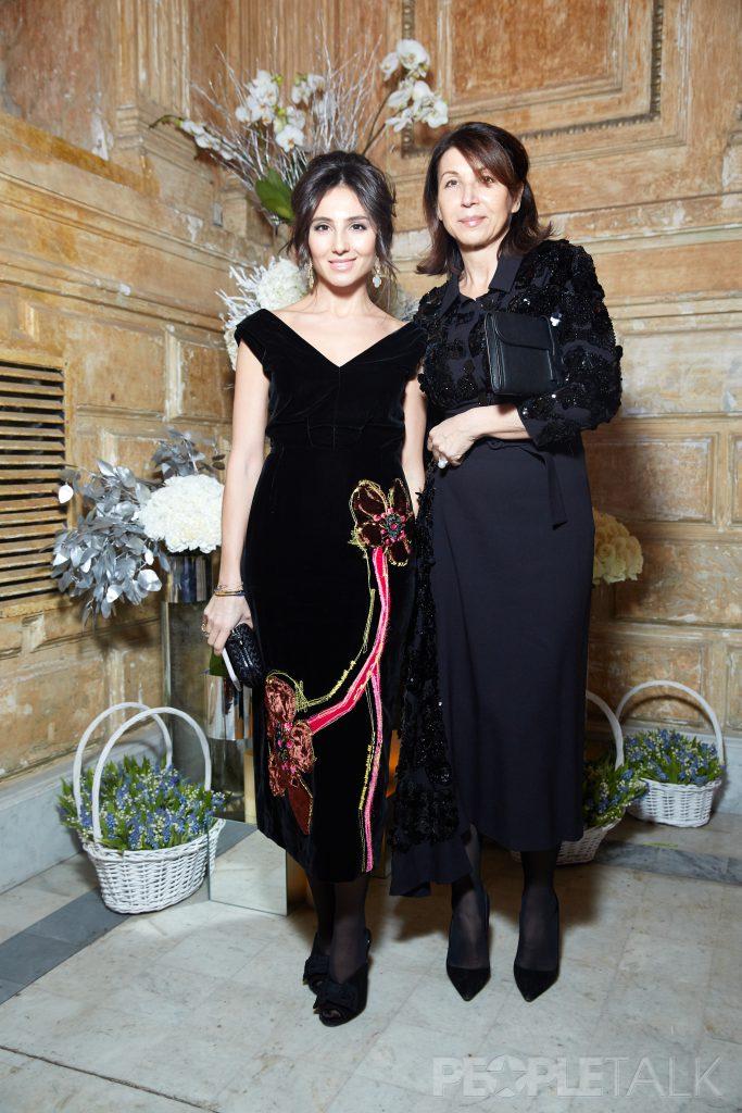 Екатерина Островская и Марина Сахновская
