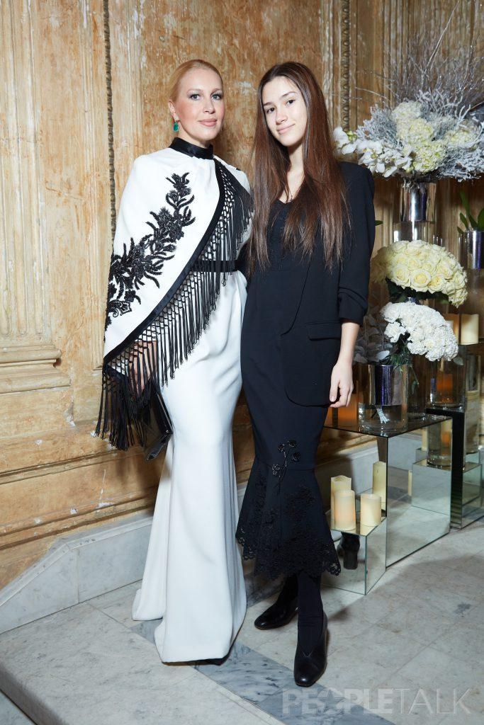 Екатерина Одинцова и Дина Немцова в платье  Edem Couture