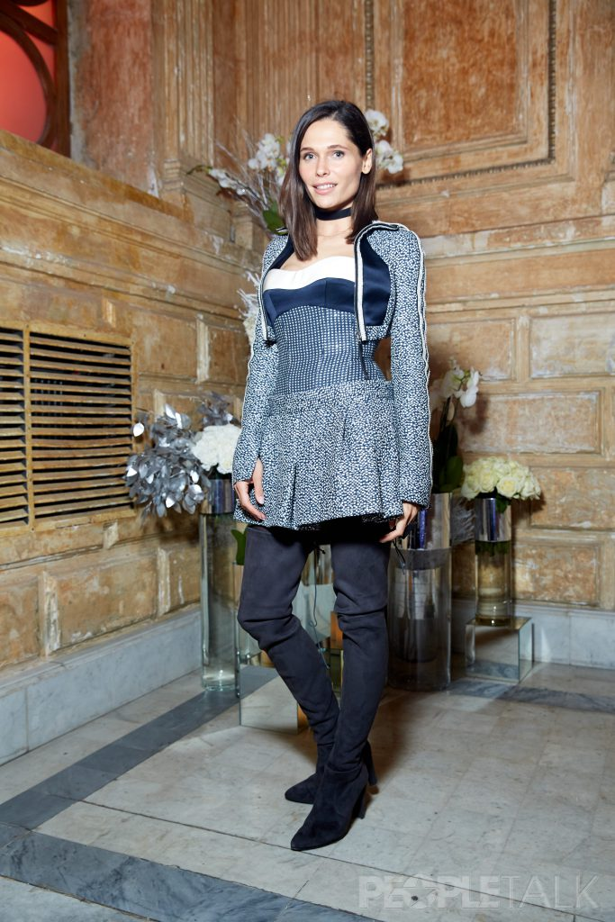 Полина Аскери в костюме  Edem Couture
