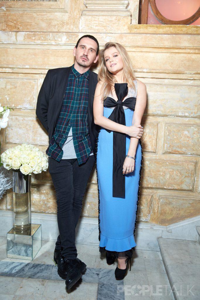 Артем Кривда и Мария Ивакова в платье Edem Couture