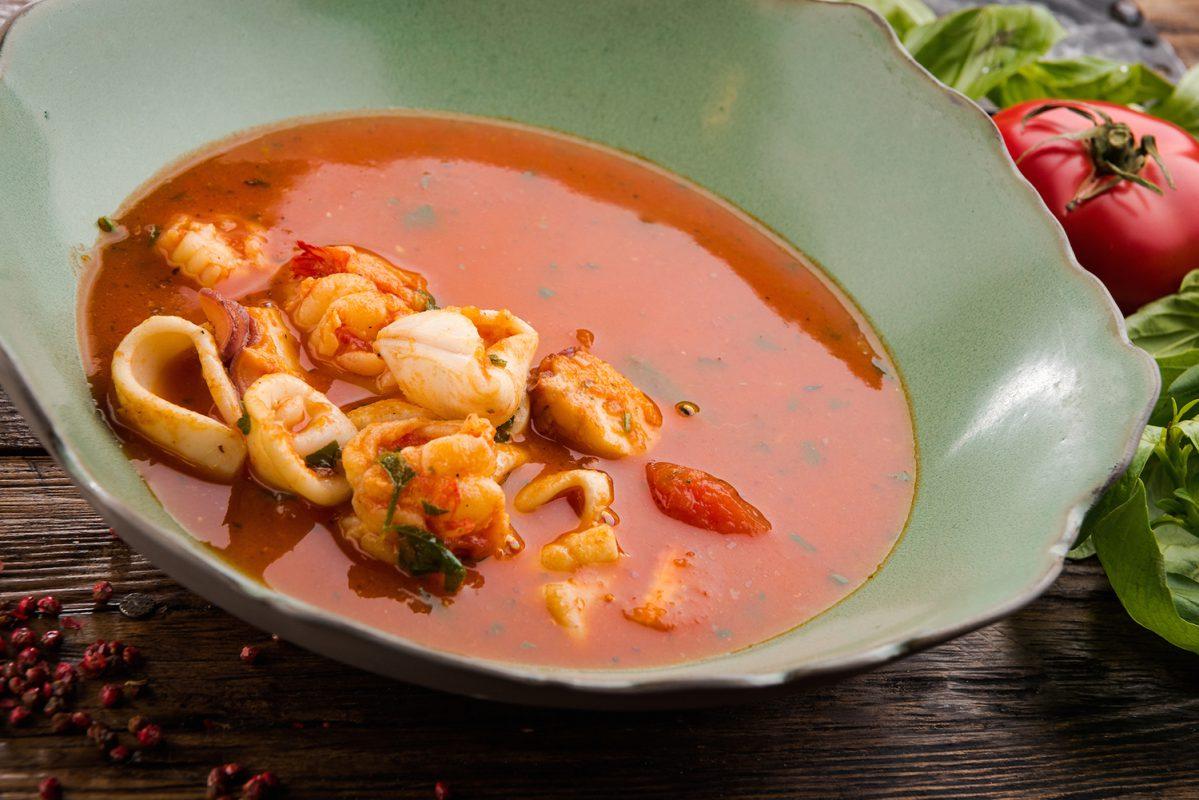 Простой суп с морепродуктами рецепты