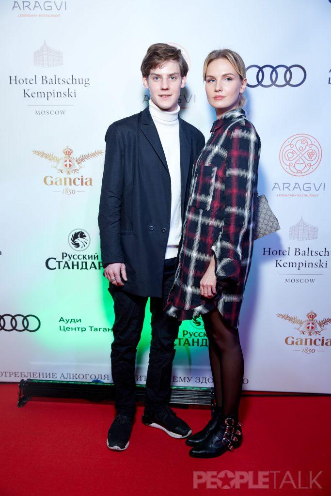 Павел Табаков и Маруся Фомина