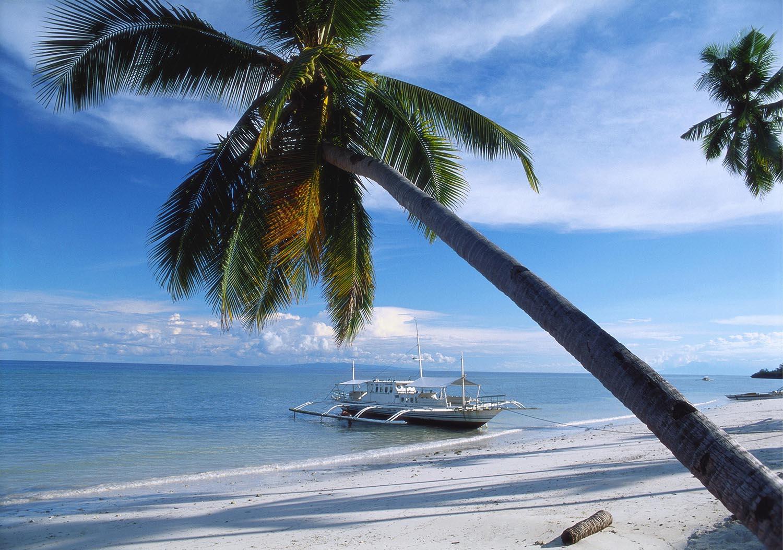 Филиппины бохол Алона пляж