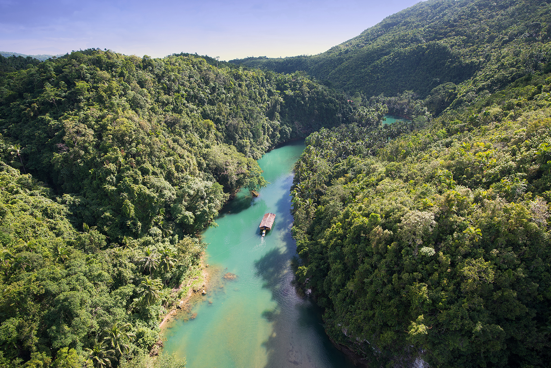 Филиппины бохол река Лобок