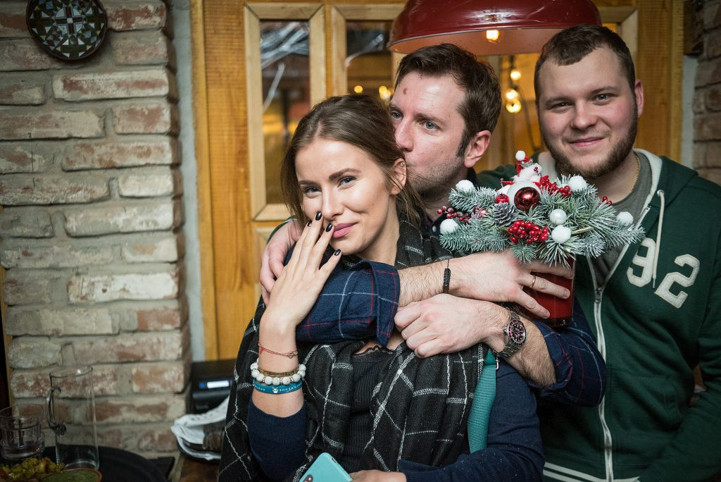 Тата Бондарчук-Мамиашвили, Резо Гигинеишвили и Сергей Бондарчук