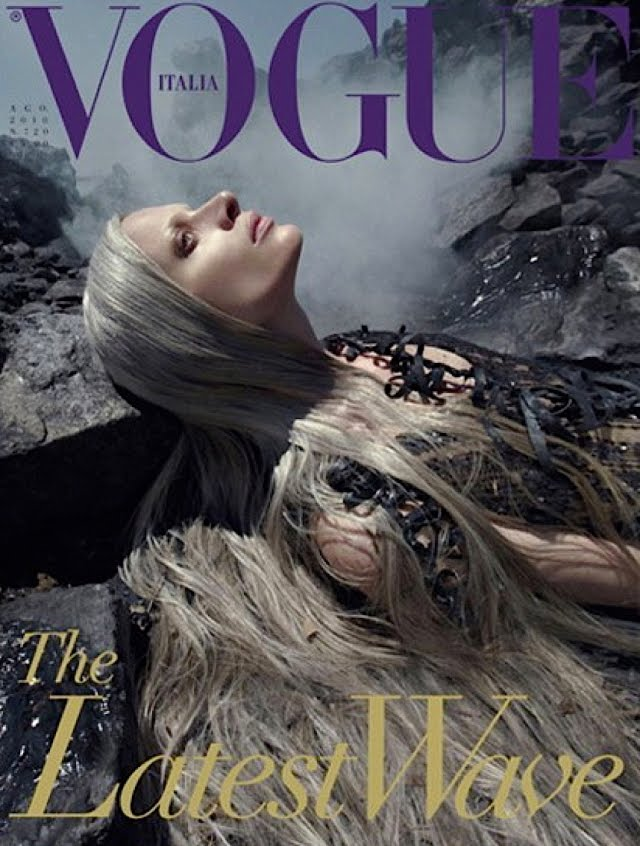 Vogue, август 2010 год