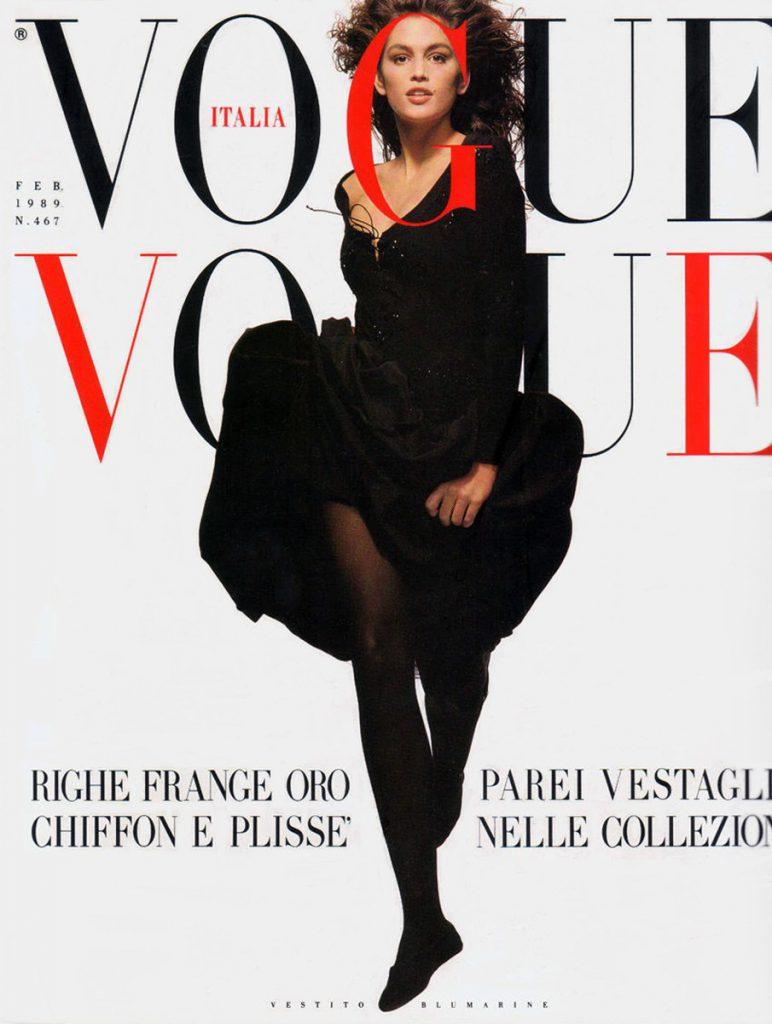Vogue, февраль 1989 год