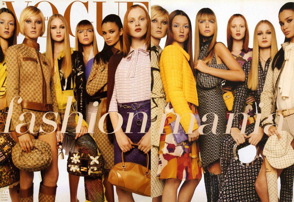Vogue, январь 2000 год