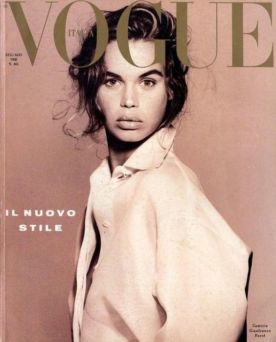 Vogue, август 1988 год
