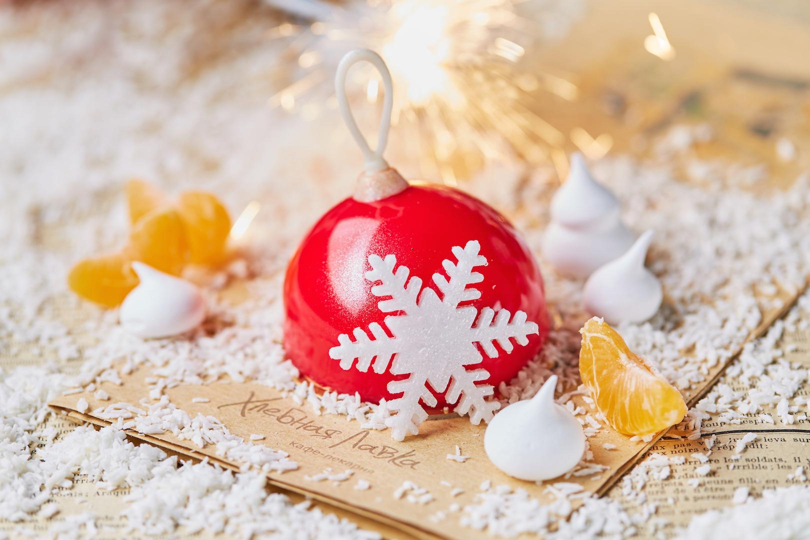 новогодние десерты Москва