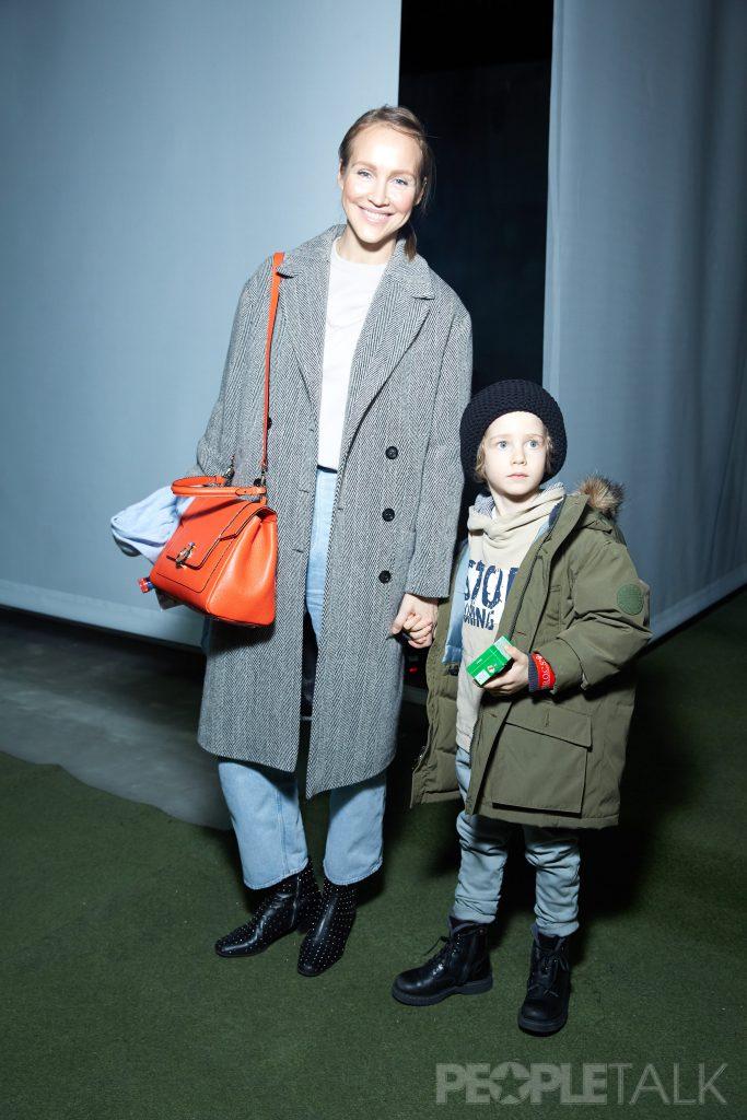 Светлана Родина с сыном Федором