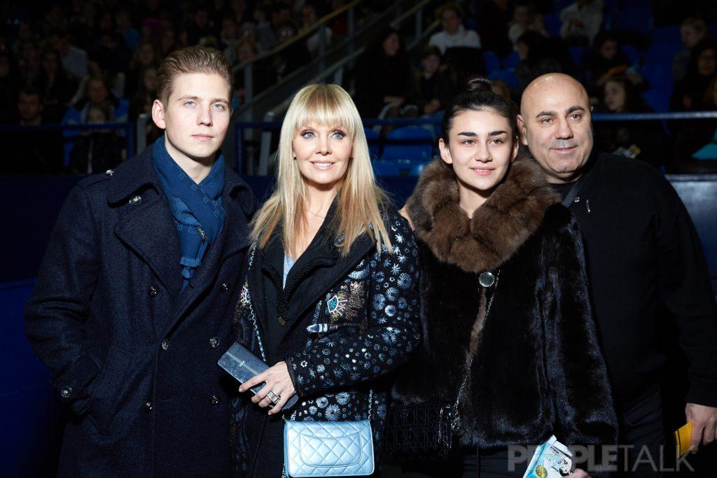 Артемий Шульгин, Валерия, Елизавета и Иосиф Пригожины