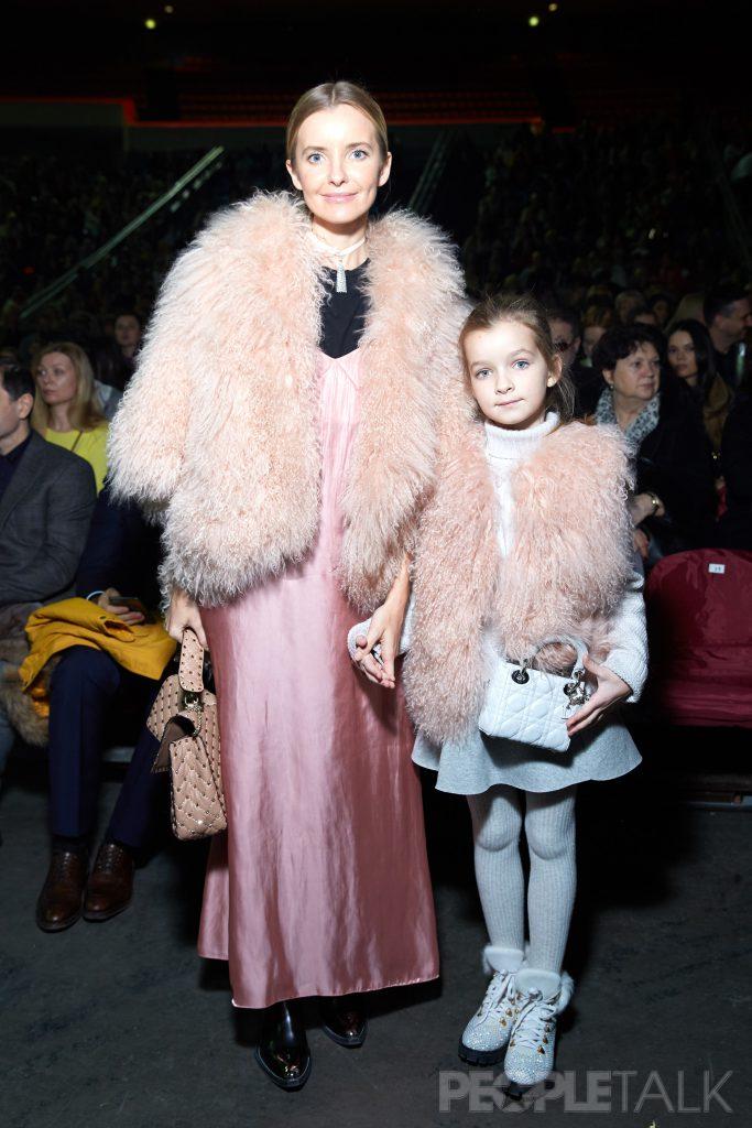 Наталья Якимчик с дочерью Александрой
