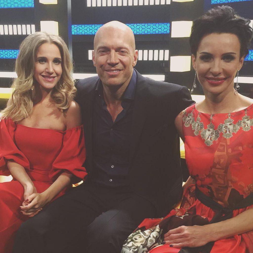 Юлия Ковальчук была на съемках шоу «Взвешенные люди»