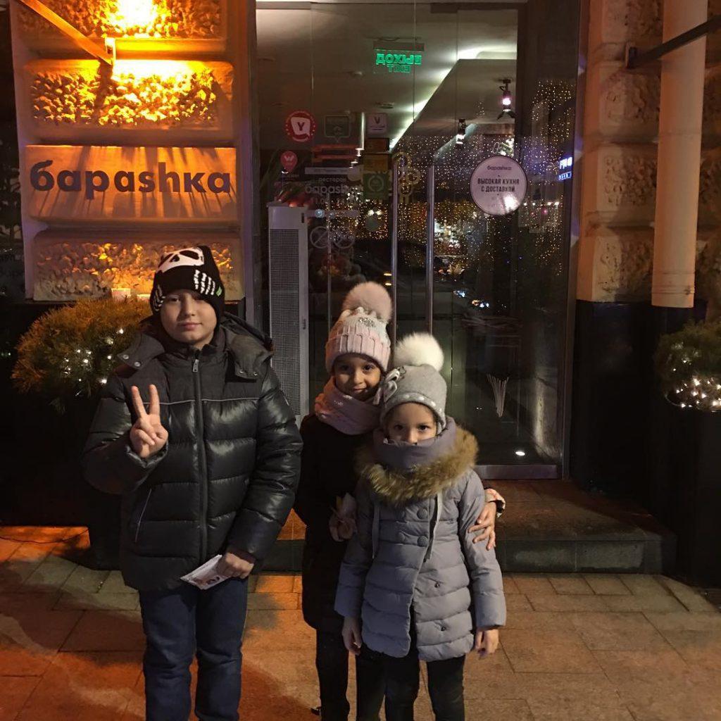 Ксения Бородина хвасталась своими очаровательными детьми