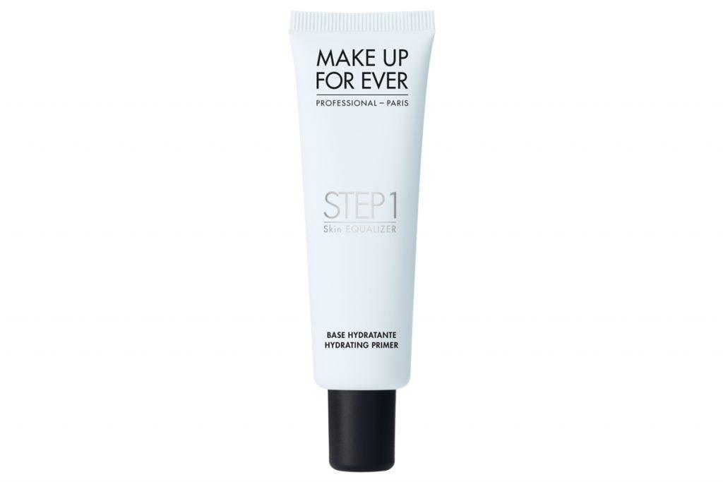 Увлажняющий праймер Step 1 Skin Equalizer, Make Up For Ever, 2000 рублей. Незаменимый помощник в подготовке сухой кожи к макияжу.