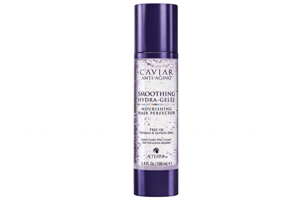 Гель для увлажнения и разглаживания волос Alterna Smoothing Hydra-Gelée Nourishing Hair Perfector, цена по запросу. Продукт на все случаи жизни: и кудри сделает, и волосы выпрямит.