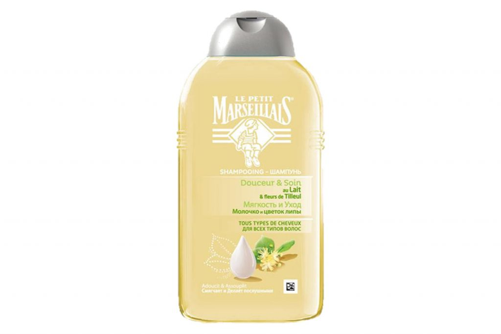 Шампунь для всех типов волос Le Petit Marseillais «Молочко и цветок липы», цена по запросу. Идеальная находка для здоровья твоих волос.