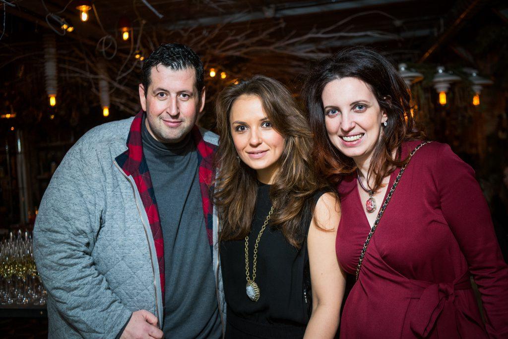 Ян Яновский, Катя Добрякова и Елена Фейгин