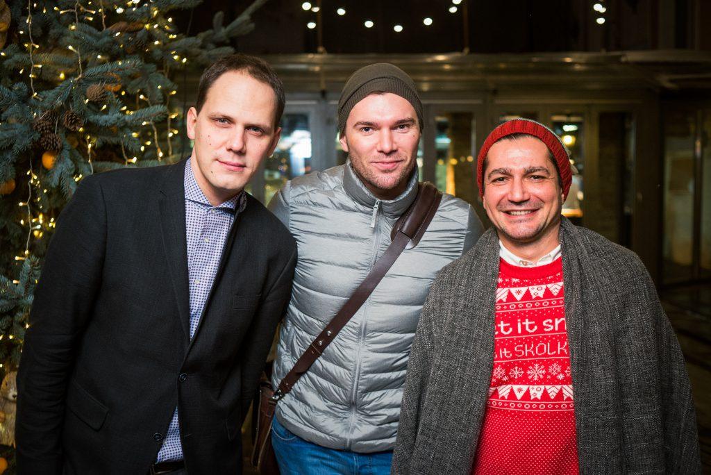 Антон Желнов, Андрей Искорнев и Алексей Боков