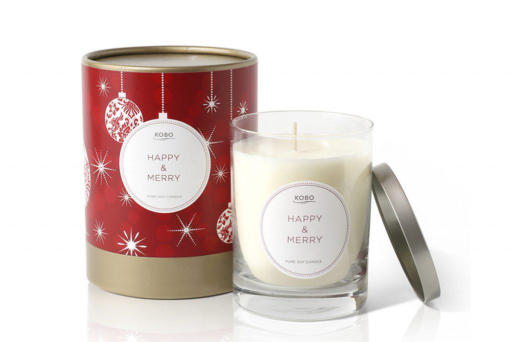 Свеча Happy And Merry, Kobo Candles, 3900 рублей. С ней в твоем доме всегда будет уютно!