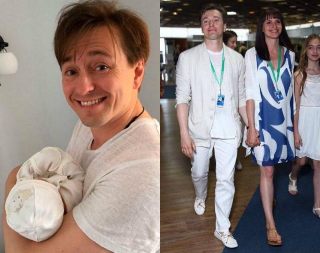 4 июля у Сергея Безрукова (43) и Анны Матисон (33) родилась дочь Мария