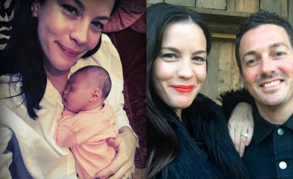 8 июля у Лив Тайлер (39) и Дэйва Гарднера родилась дочь Лула