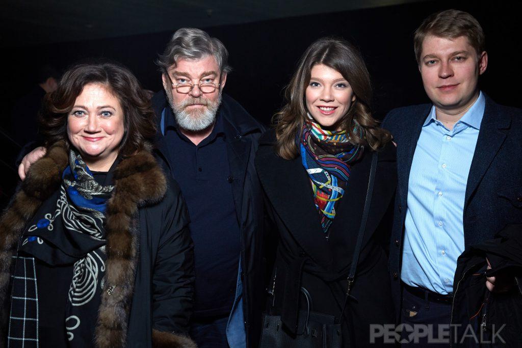 Елена, Константин, Варвара и Николай Ремчуковы