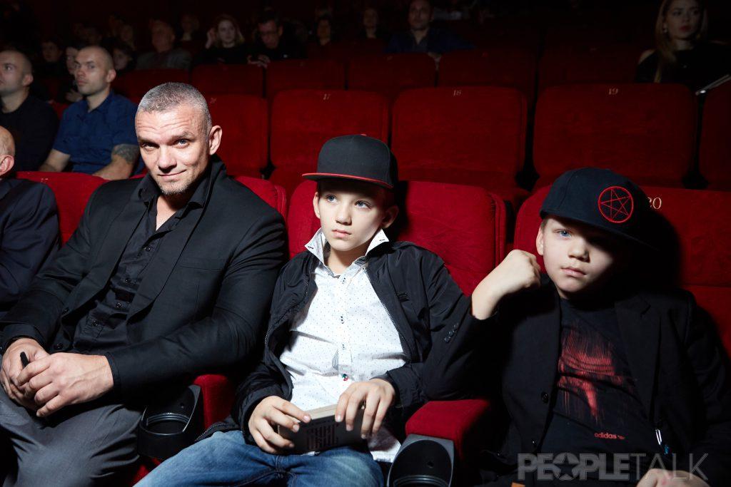 Владимир Епифанцев с сыновьями
