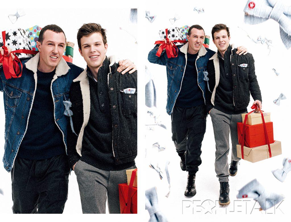 Игорь: джемпер, Banana Republic; куртка, Zara. Григорий: свитер,  Banana Republic; куртка, Levi's