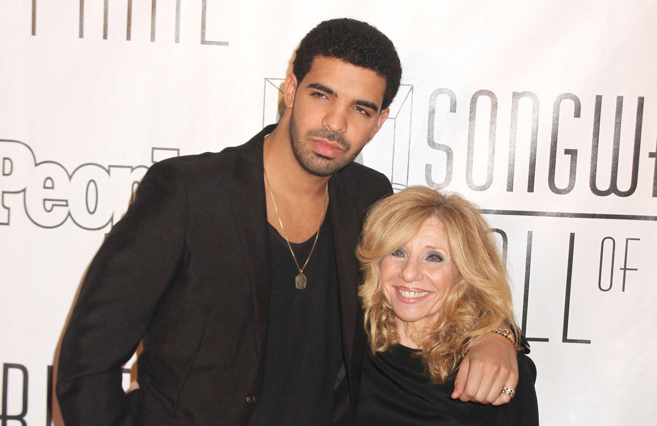 Дрейк с мамой
