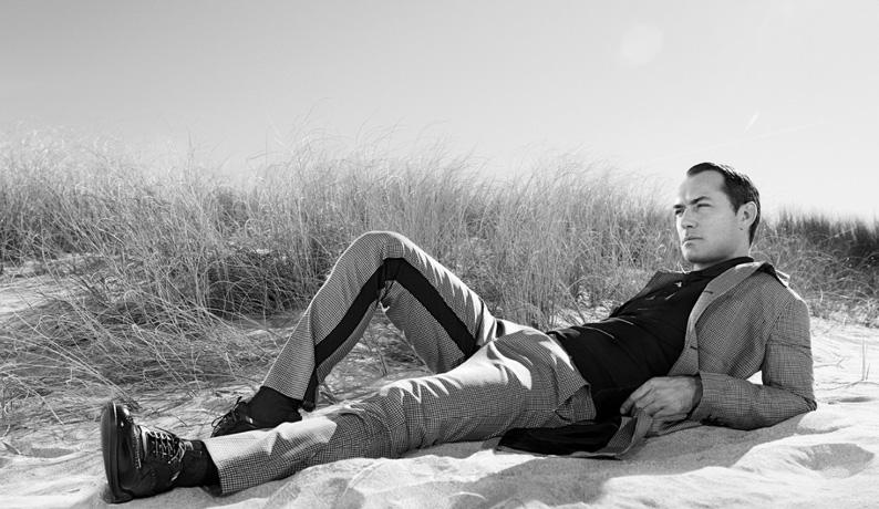 Джуд Лоу для рекламной кампании Prada