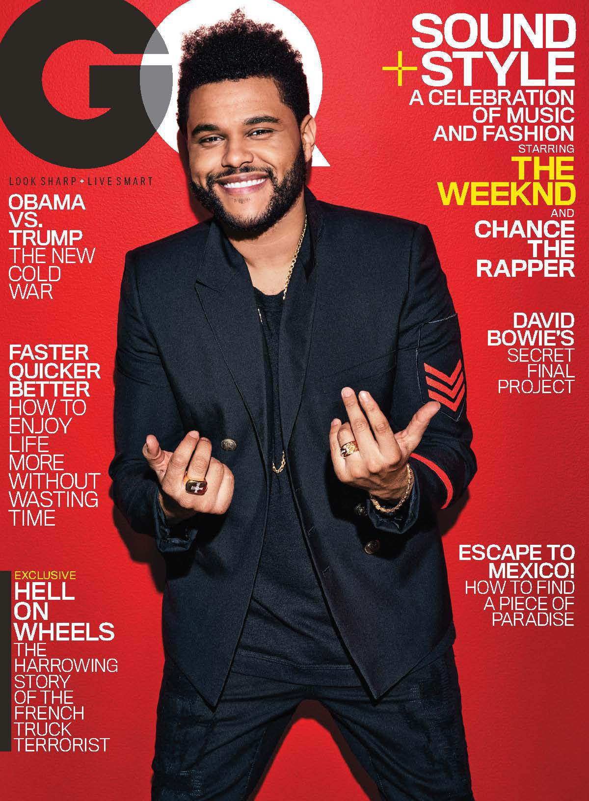 The Weeknd на обложке GQ