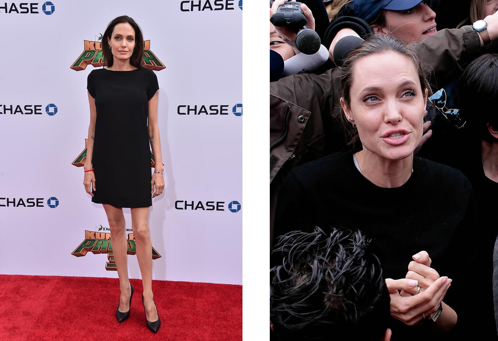 Анджелина Джоли, 2016 год