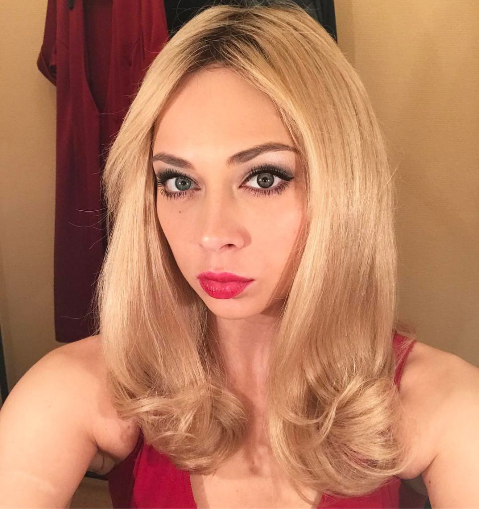 Настасья Самбурская выступала в Театре на Малой бронной