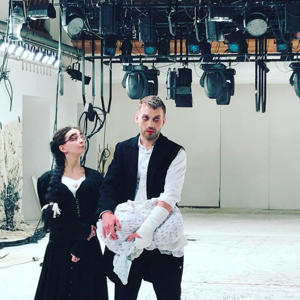 Ксения Собчак посетила спектакль «О-й. Поздняя любовь»