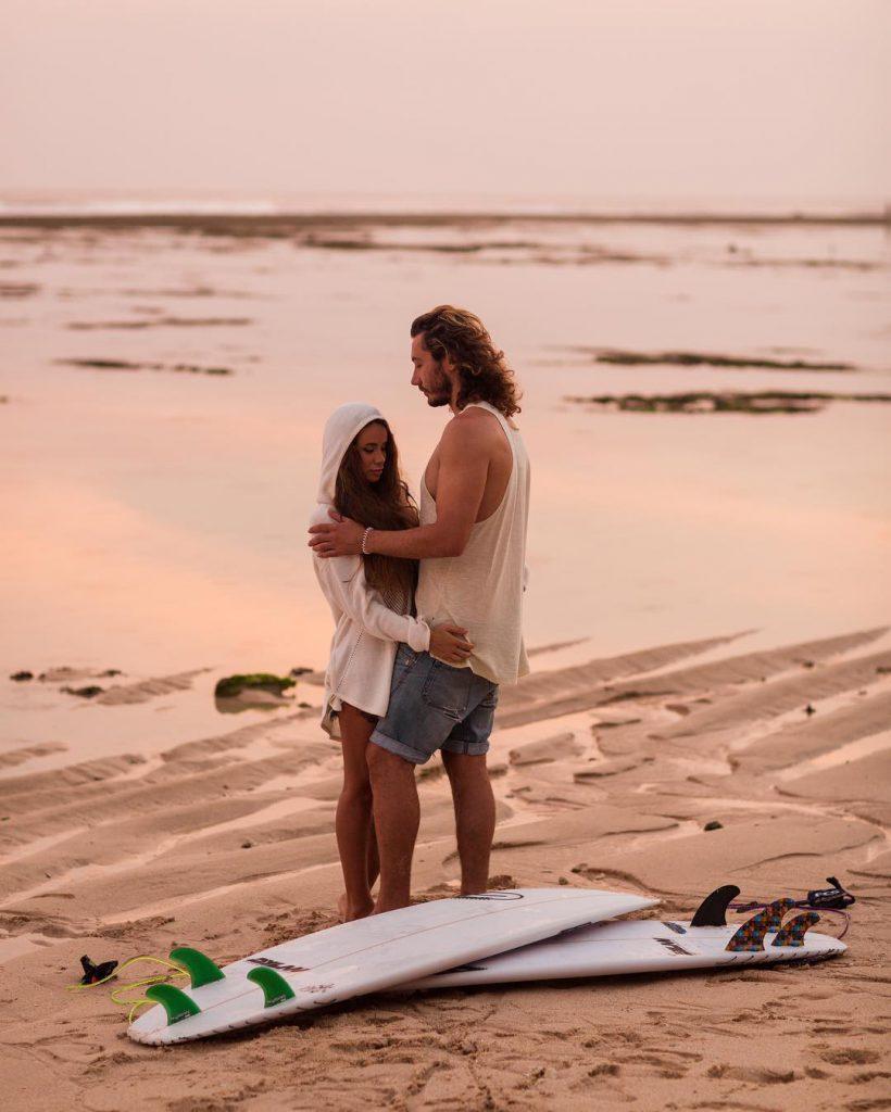 Айза и Дмитрий Анохины (Бали)