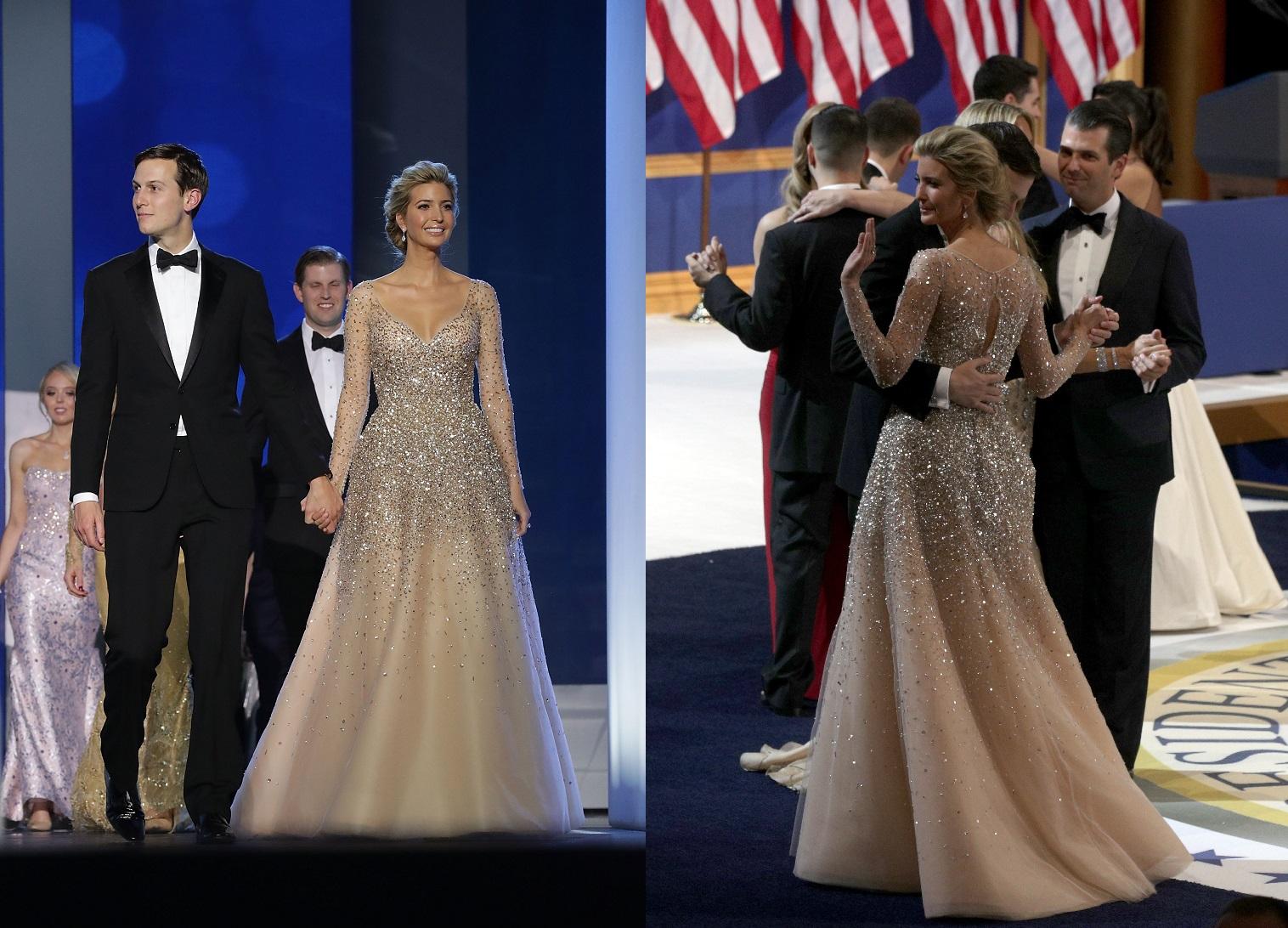 Иванка Трамп в платье Carolina Herrera