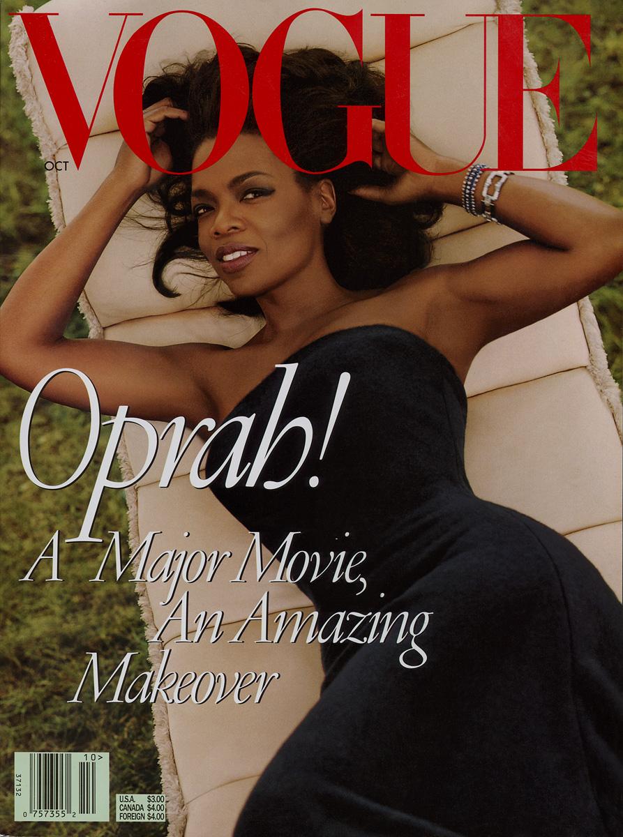 Опра Уинфри на обложке Vogue