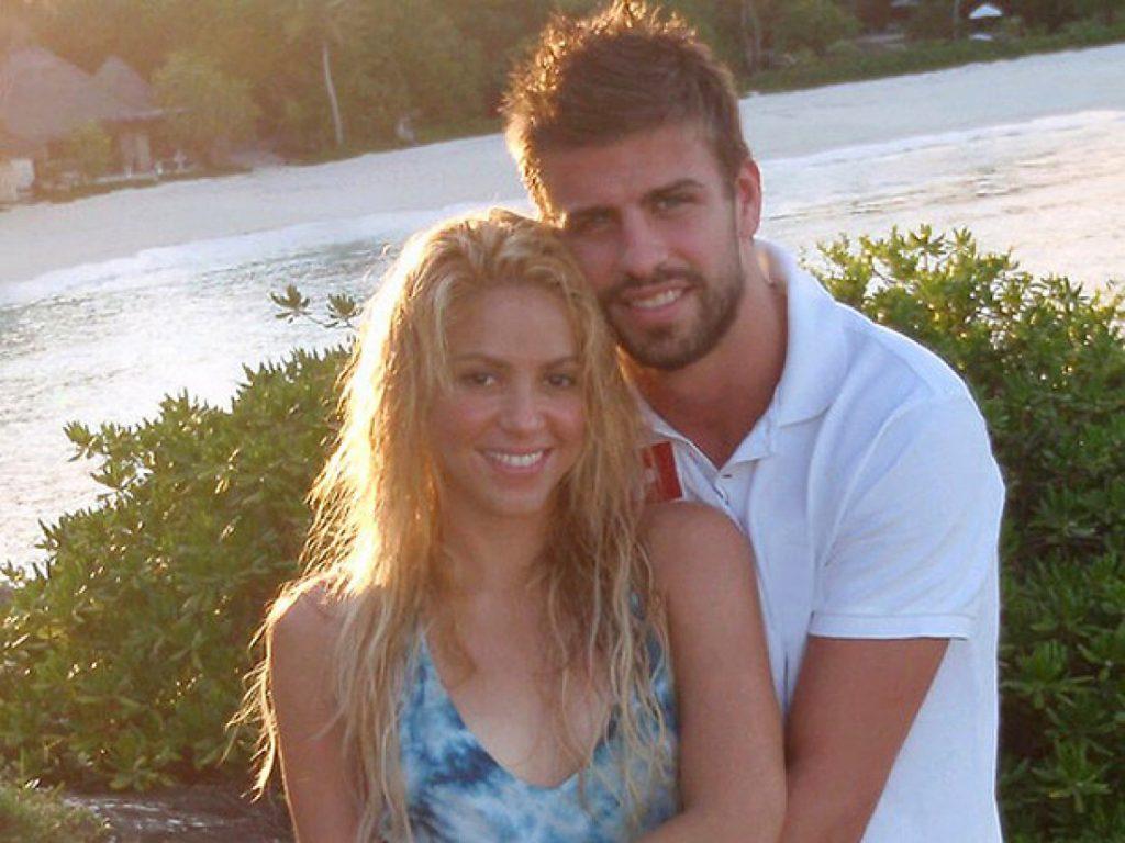 Первое фото Шакиры и Пике