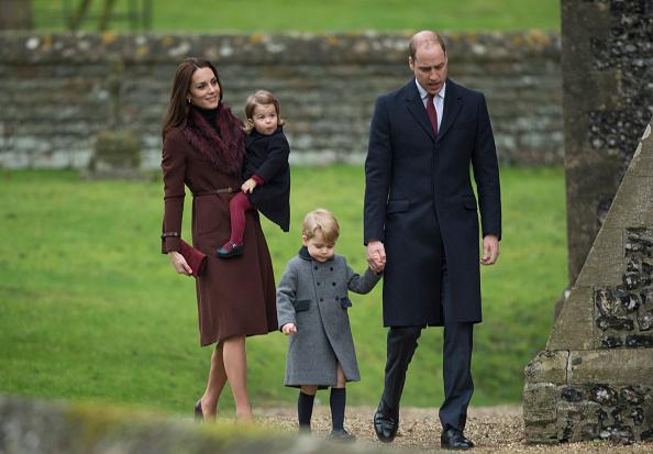 Кейт Миддлтон, принц Уильям и дети