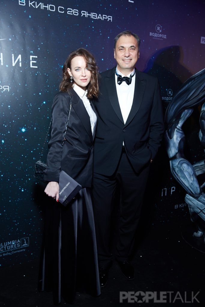 Дмитрий Рудовский с женой