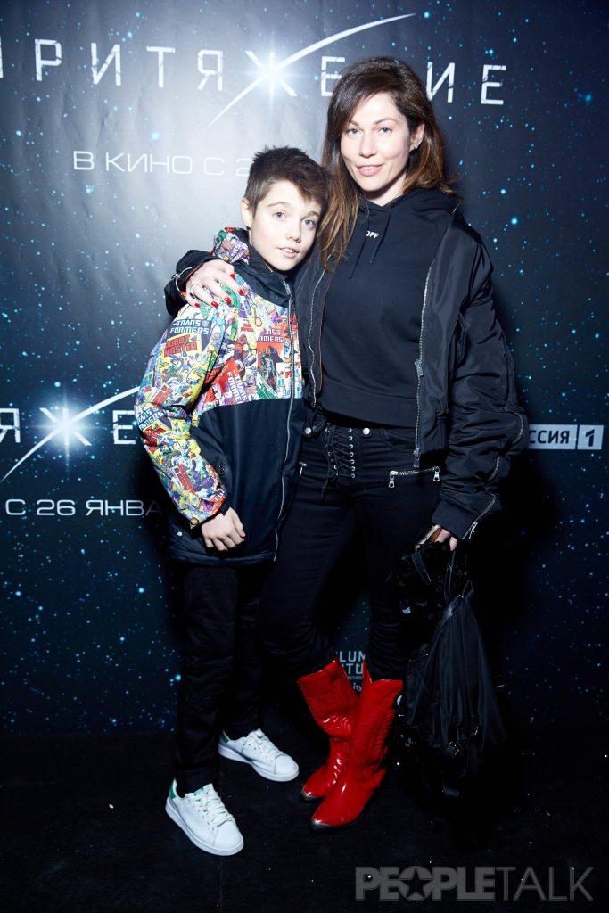 Евгения Линович с сыном Борисом