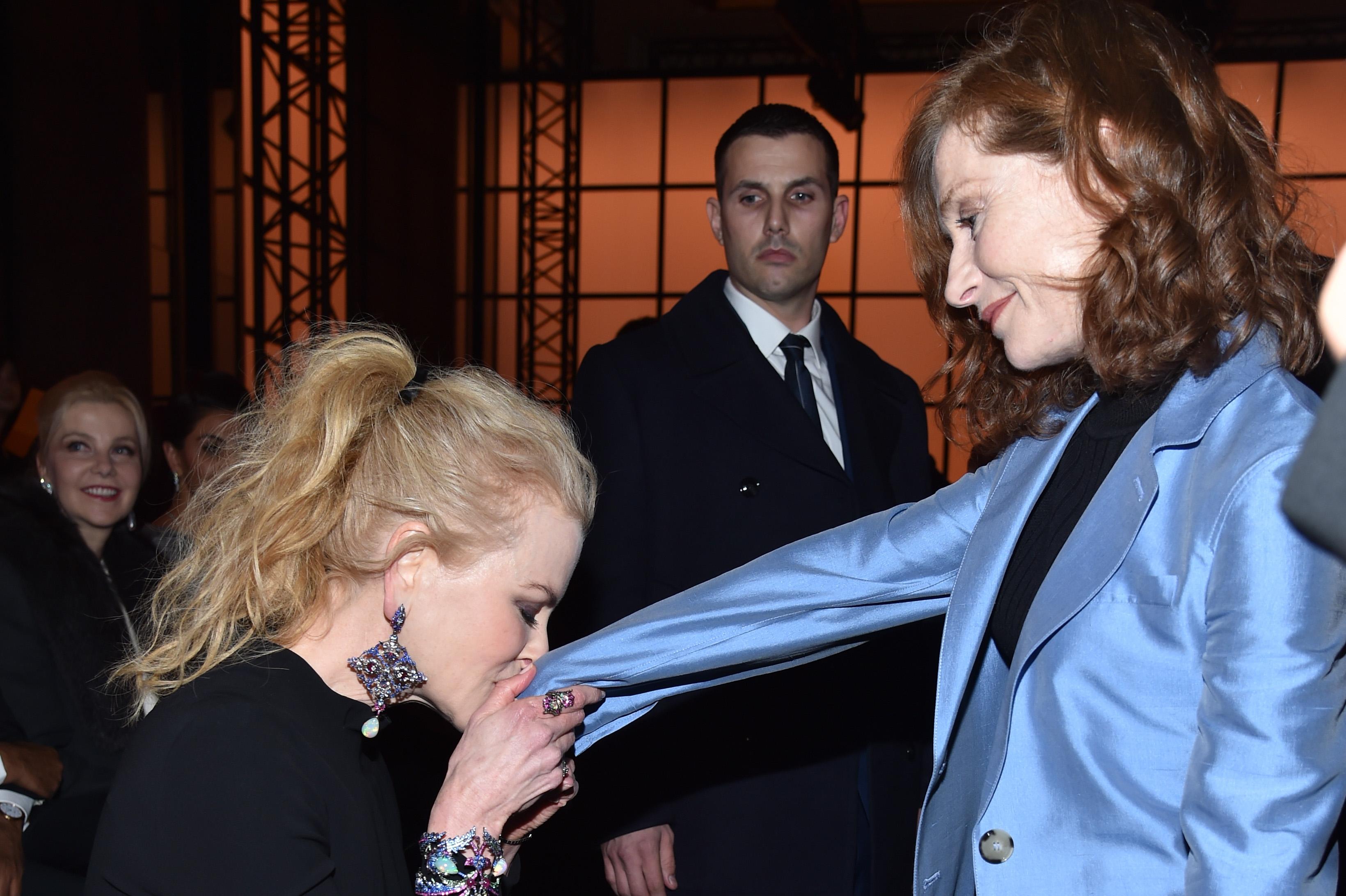 Николь Кидман и Изабель Юппер